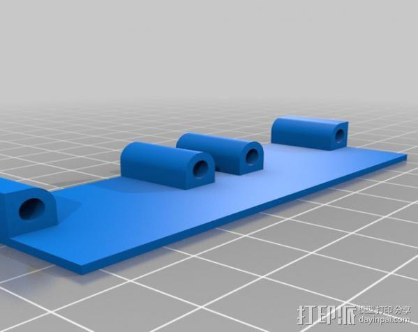 散热风扇 3D模型  图3