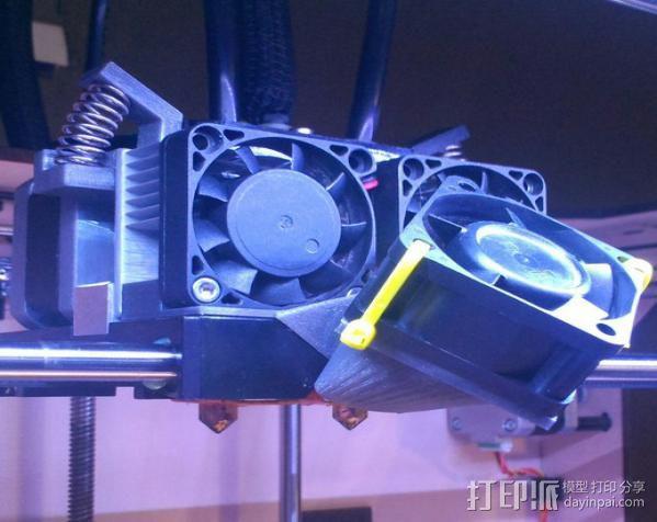散热风扇 3D模型  图2