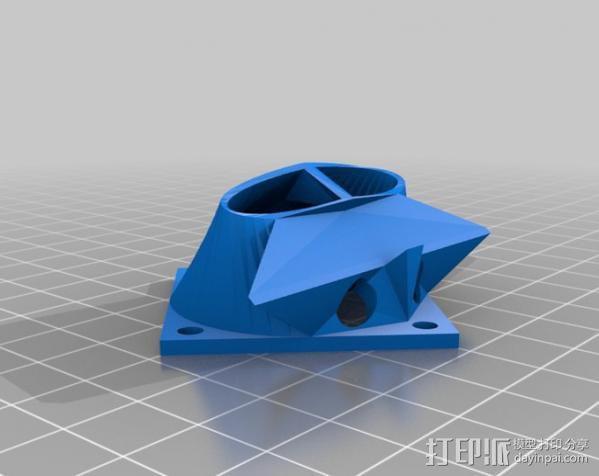 散热风扇 3D模型  图4