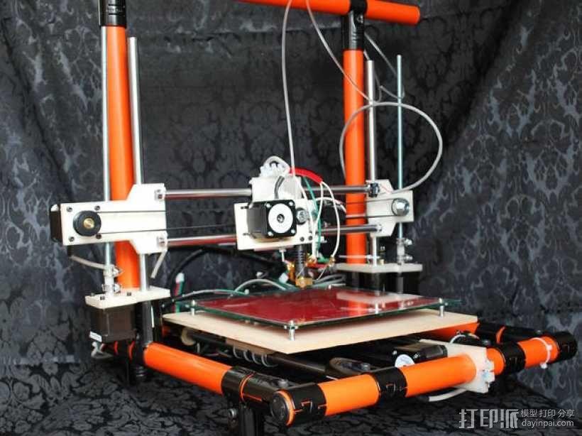 EchoRap Rev打印机的配件 3D模型  图1
