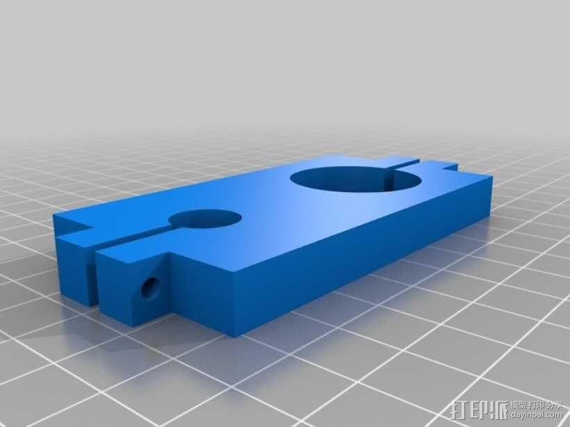 EchoRap Rev打印机的配件 3D模型  图5