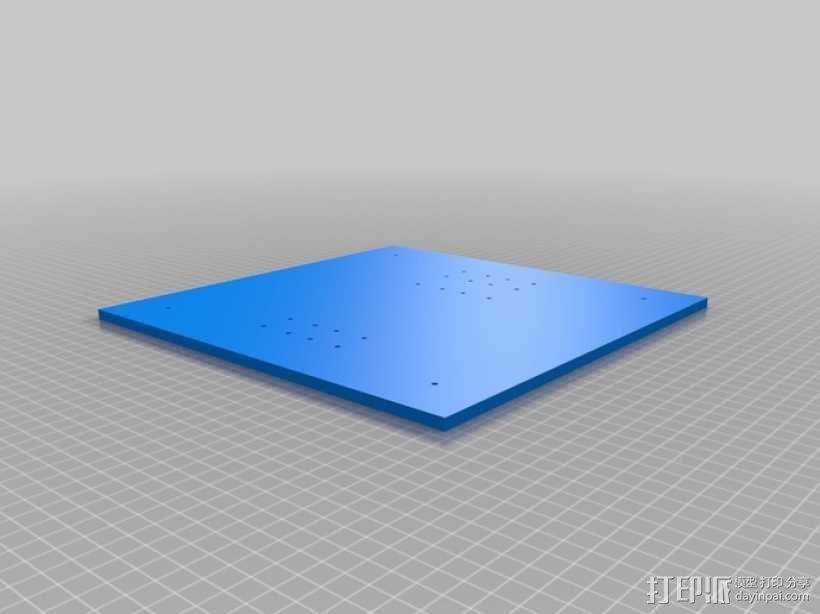 EchoRap Rev打印机的配件 3D模型  图7