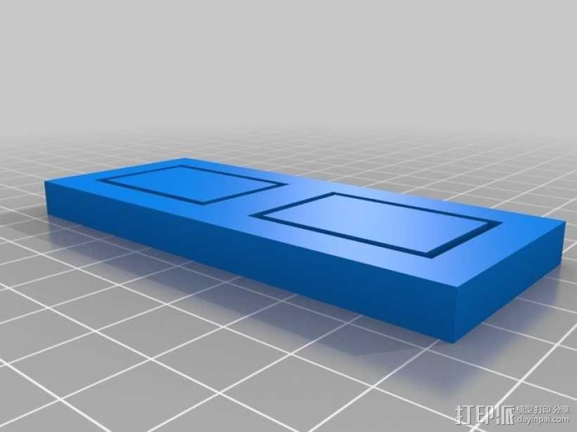 EchoRap Rev打印机的配件 3D模型  图8