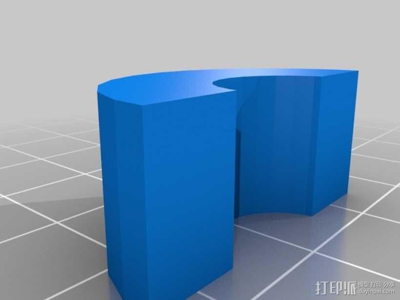 EchoRap Rev打印机的配件 3D模型  图9