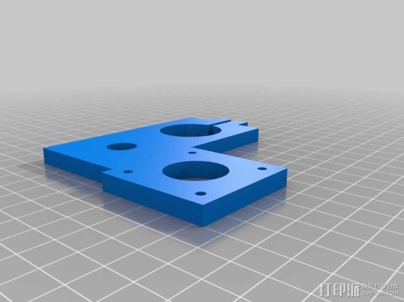 EchoRap Rev打印机的配件 3D模型  图11