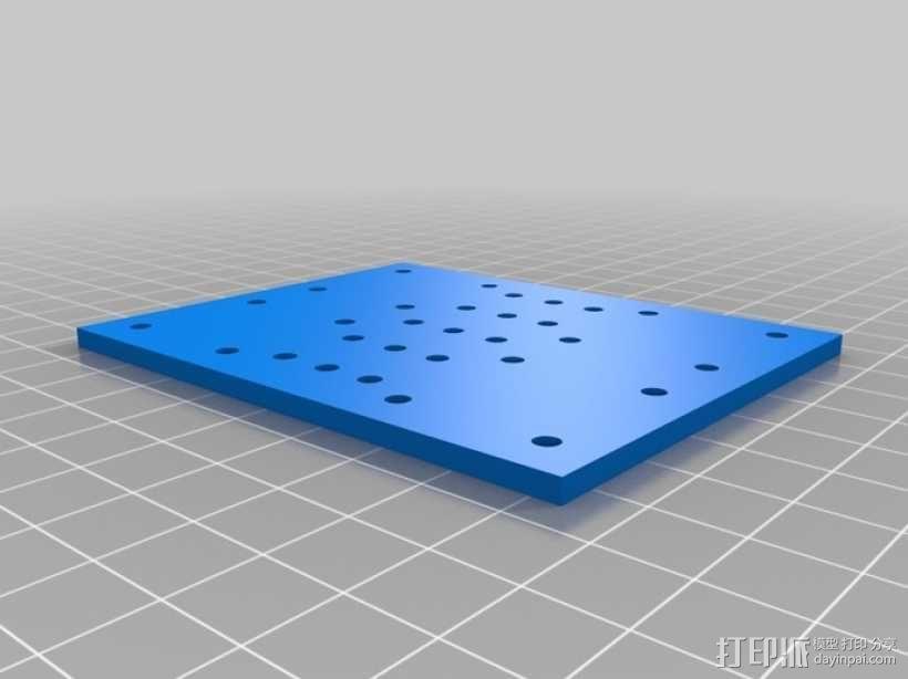 EchoRap Rev打印机的配件 3D模型  图10