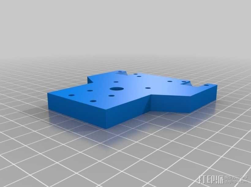 EchoRap Rev打印机的配件 3D模型  图12