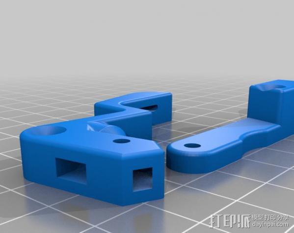 Mk8挤出机配件 3D模型  图14
