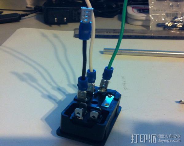 电源罩 3D模型  图9