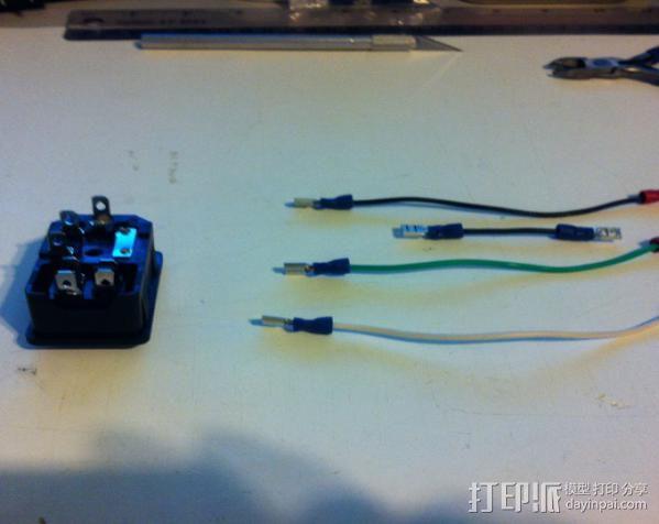 电源罩 3D模型  图6