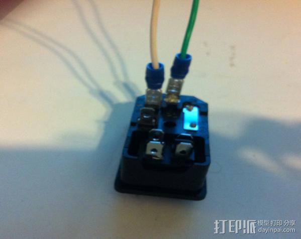 电源罩 3D模型  图8