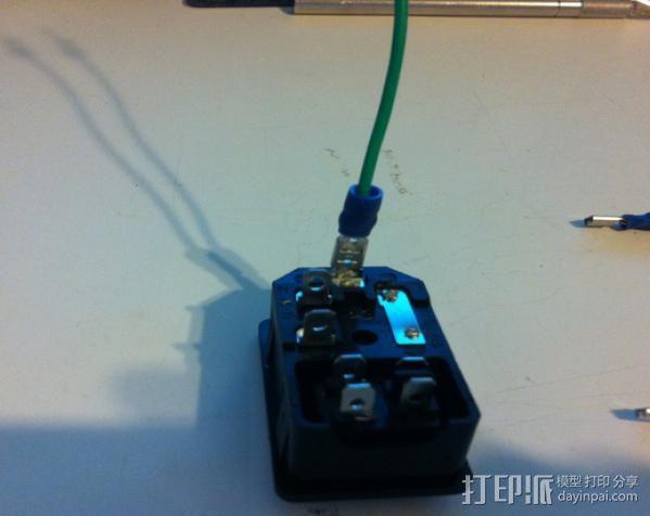 电源罩 3D模型  图7