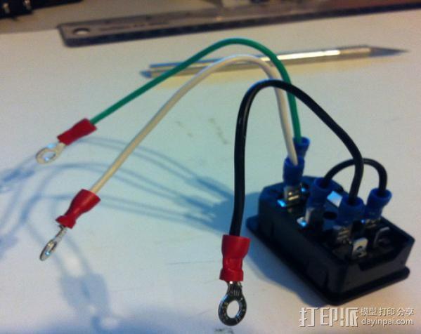 电源罩 3D模型  图11