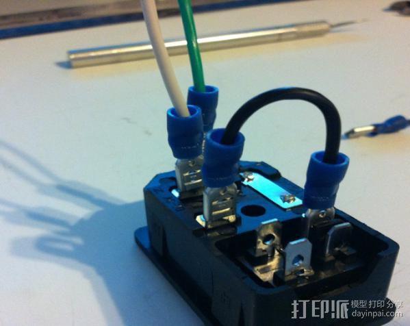 电源罩 3D模型  图10