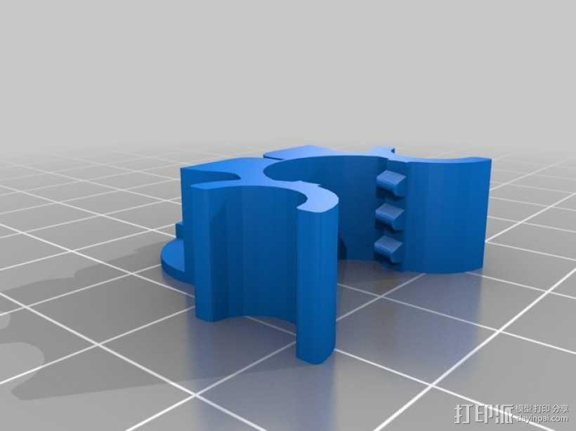 鲍登注射器挤出机 3D模型  图9