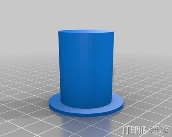 MakerBot Replicator打印机的工具架 3D模型  图1