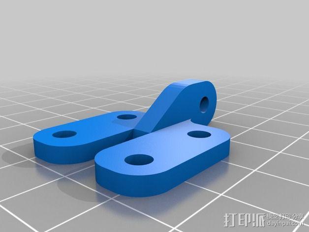 风扇通风导管支架 3D模型  图1