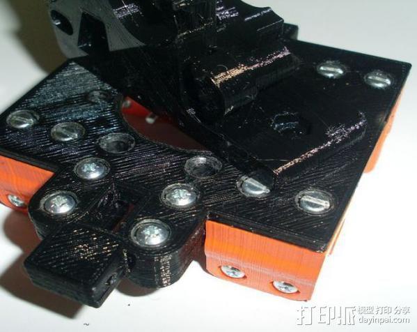 打印机X轴部件 轴承支架 3D模型  图5
