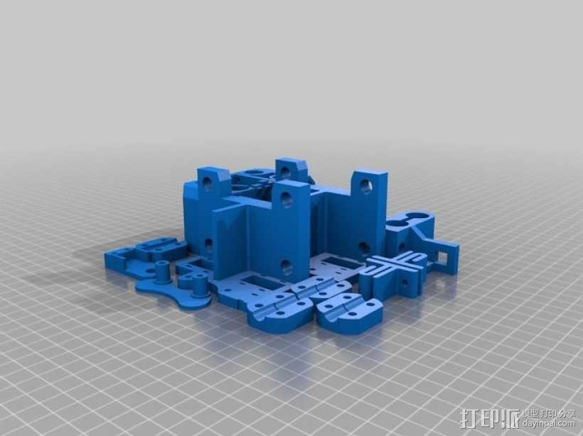 打印机底盘托架 3D模型  图4