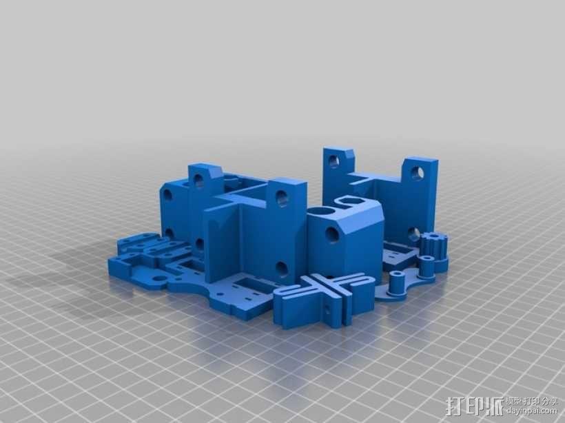 打印机底盘托架 3D模型  图6