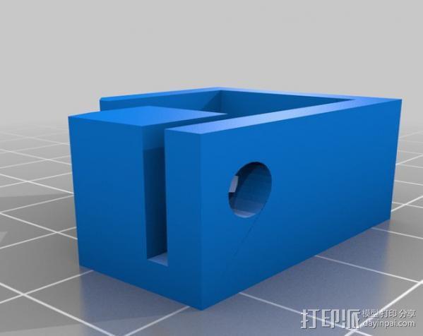 激光切割器支架 3D模型  图4