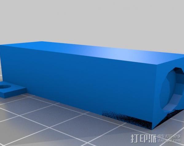 激光切割器支架 3D模型  图5