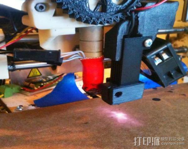 激光切割器支架 3D模型  图6
