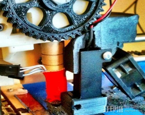 激光切割器支架 3D模型  图7