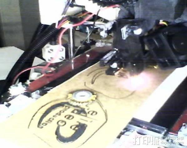 激光切割器支架 3D模型  图18