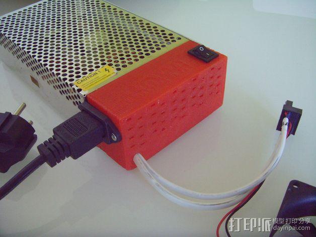 电源罩 3D模型  图1