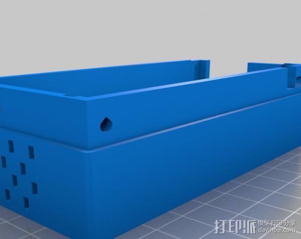 电源罩 3D模型  图3