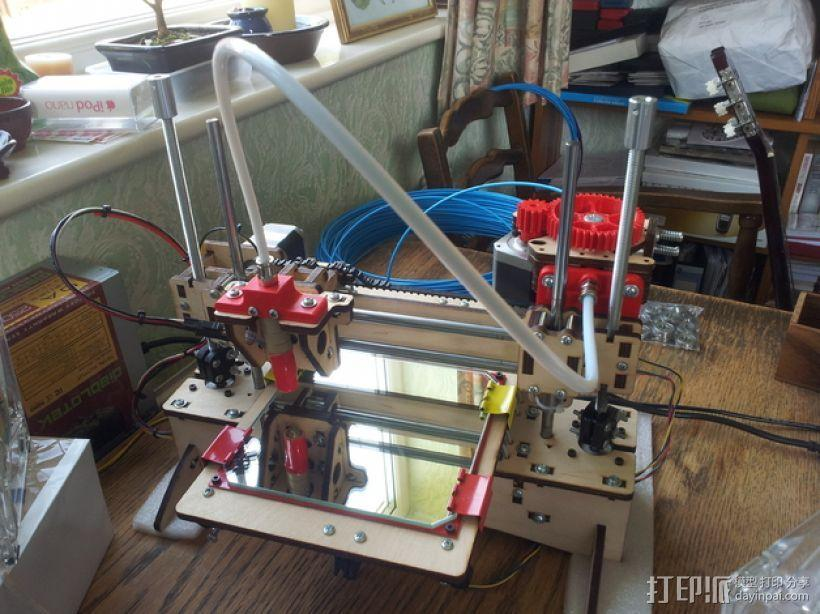 线材保护器 线材导管 3D模型  图1
