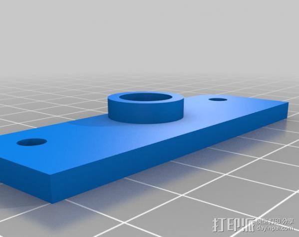 线材保护器 线材导管 3D模型  图4