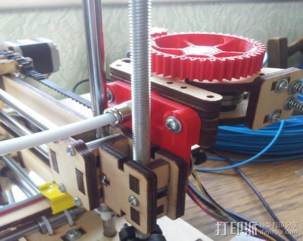 线材保护器 线材导管 3D模型  图2