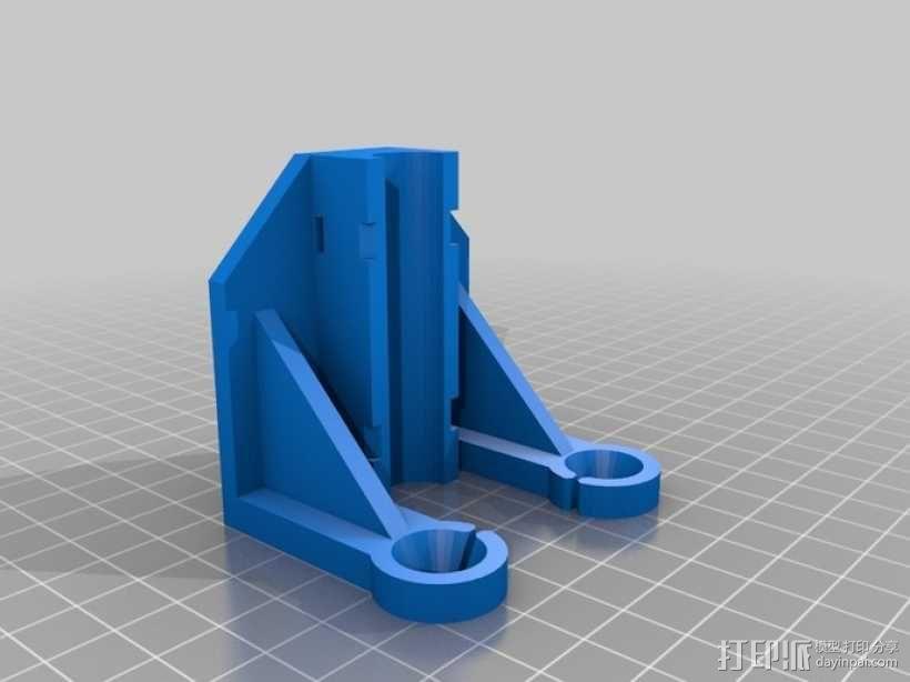 Replicator 打印机导线器 3D模型  图1