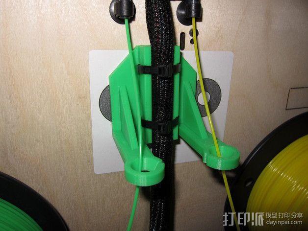Replicator 打印机导线器 3D模型  图2
