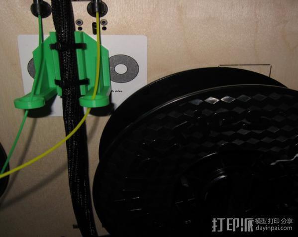 Replicator 打印机导线器 3D模型  图5
