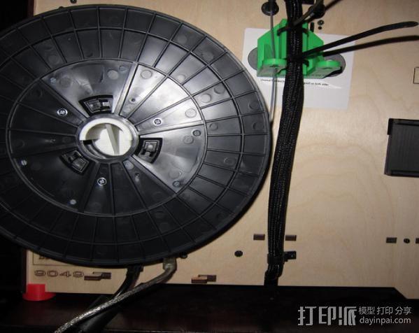 Replicator 打印机导线器 3D模型  图6