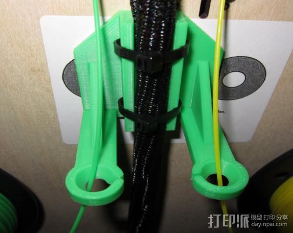 Replicator 打印机导线器 3D模型  图4