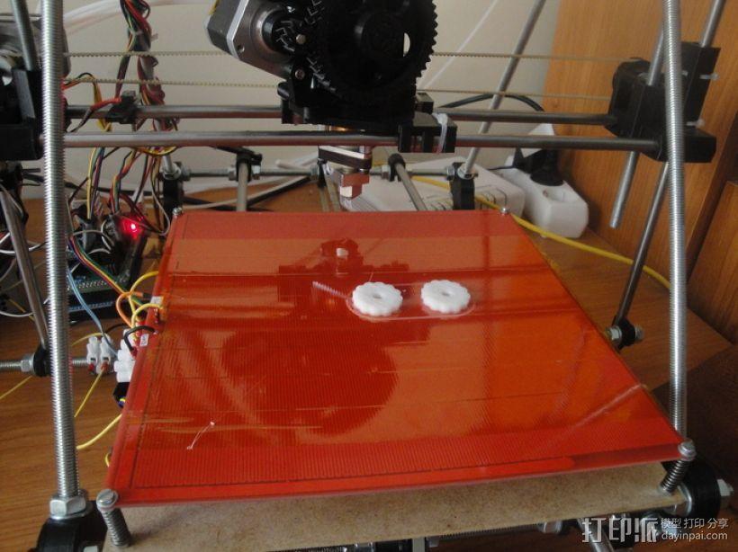 拇指旋轮 3D模型  图3