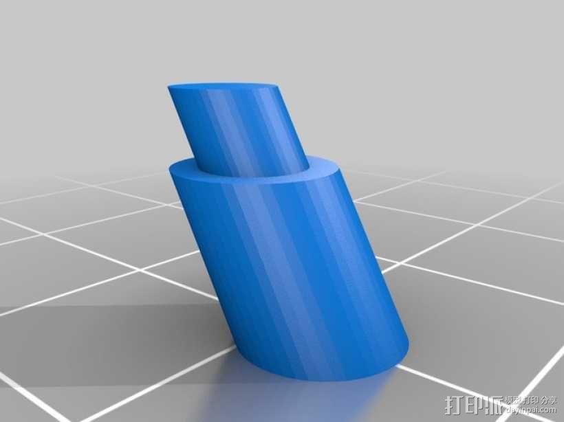 智能控制器显示屏外壳 3D模型  图4