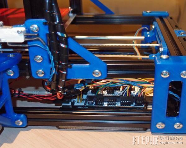 自制的3D打印机 3D模型  图8
