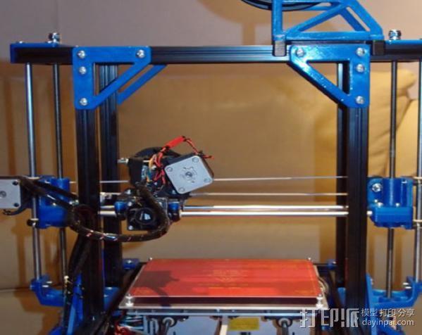 自制的3D打印机 3D模型  图6