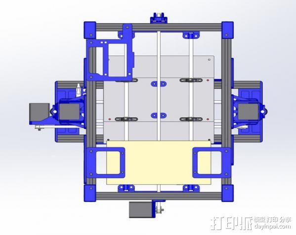 自制的3D打印机 3D模型  图4
