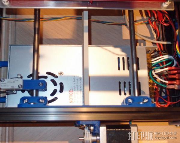 自制的3D打印机 3D模型  图7