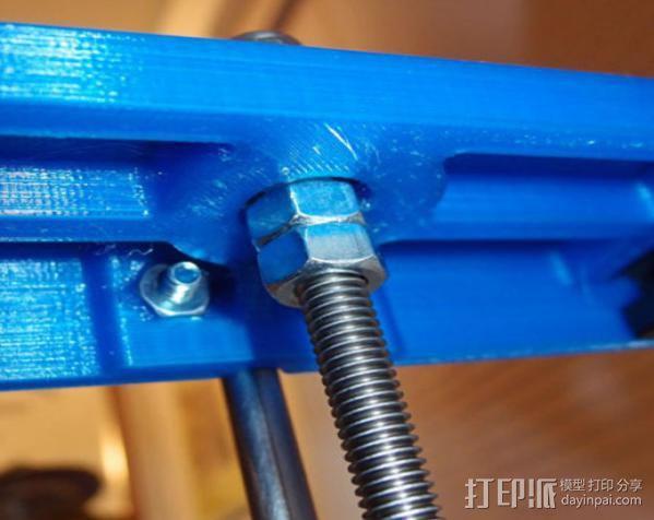 自制的3D打印机 3D模型  图9