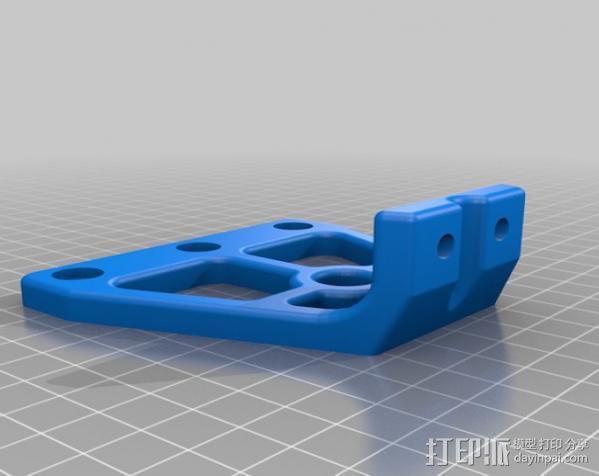 自制的3D打印机 3D模型  图11