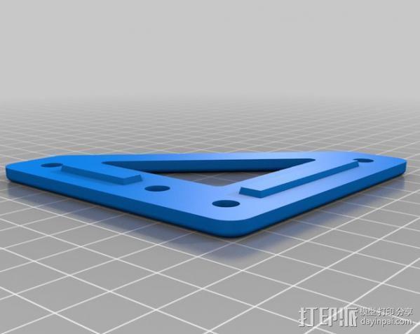 自制的3D打印机 3D模型  图12