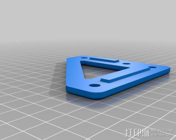 自制的3D打印机 3D模型  图13
