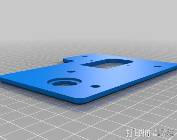 自制的3D打印机 3D模型  图15